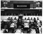 227b - A luncheon in the Whiting Fieldhouse on Friday September 26th, 1969