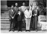 151 - Faculty Grow Beards for 1954 Topeka Centennial